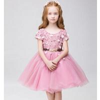 儿童时尚礼服新年公主裙蓬蓬裙 女童连衣裙花童礼服儿童演出服