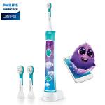 飞利浦电动牙刷HX6311升级HX6322儿童充电式智能定时蓝牙声波牙刷
