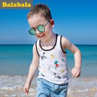 巴拉巴拉男童背心无袖2017夏季新款小童宝宝吊带背心男潮