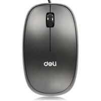 得力文具(deli)3715高精度光学有线鼠标 移动精准 USB鼠标 办公鼠标【本店满68元包邮 ,新疆 西藏等偏远地区除外】