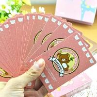 创意扑克牌家居礼品可爱时尚娱乐纸牌游戏牌卡通扑克牌