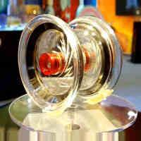 奥迪双钻 悠悠球火力少年王5飓刃 金属环溜溜球 YOYO 带侧轴
