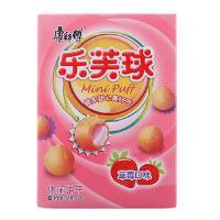 [当当自营] 康师傅 乐芙球草莓味60g