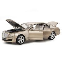 星辉车模 1:18宾利合金仿真汽车模型男孩玩具车静态车模 43800