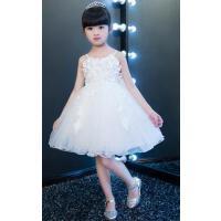 儿童礼服公主裙夏季婚纱裙花童裙女童主持走秀钢琴演出服