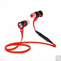 Aigo/爱国者 S01蓝牙耳机4.1迷你通用双入耳塞式 无线运动耳机4.0 红黑