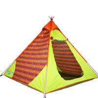 户外3-4人家庭2人套装野外露营防雨帐篷