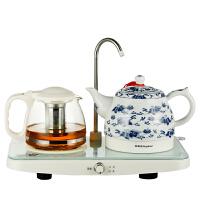 Royalstar/荣事达 TCE10-08B自动上水电茶壶陶瓷电热水壶套装特价