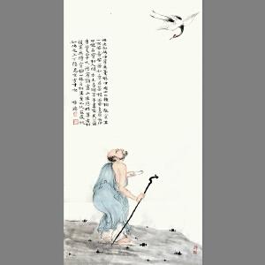 佛教题材《修持》系列之一