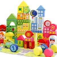 3d立体拼图木质木制儿童智力玩具益智手工成人模型1