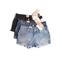 Levis/李维斯短裤\热裤女款新款女士牛仔短裤