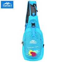 Topsky 户外胸包运动单肩包男女斜挎包 骑行包休闲运动包