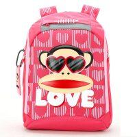 大嘴猴Paul Frank 小学生书包 男女生双肩包 儿童背包1-6年级 PKY2085