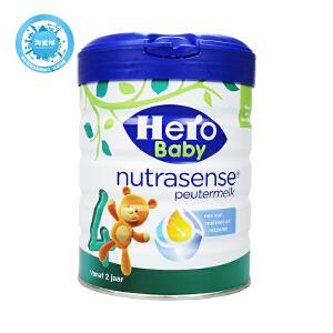 保税区直发  荷兰Hero Baby天赋力美素白金版奶粉4段 700g  保质期到17年11月左右
