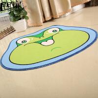 门扉 地垫 创意家居 卡通地垫印花门垫卧室厨房门厅卫浴吸水脚垫防滑垫地毯儿童垫 创意地垫