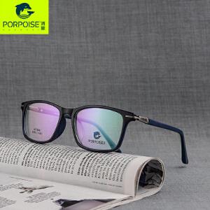 海豚PORPOISE 2017新款眼镜架 韩版潮流复古近视框 男女同款配镜
