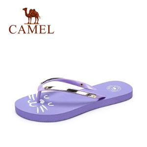 camel骆驼女鞋 夏季新品防滑拖鞋女 简约可爱沙滩居家拖鞋女