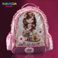 咔米嗒韩版儿童拉杆书包小学生包包1-3-5年级女生双肩包公主背包