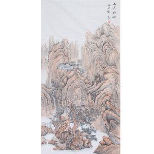 常粟(山居秋暝)河南省美协会员