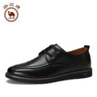 骆驼牌日常休闲皮鞋 舒适耐磨男士皮鞋潮流男鞋低帮鞋商务休闲