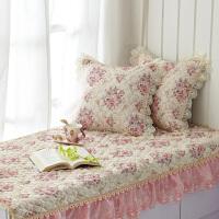 飘窗垫欧式窗台垫防滑飘窗毯卧室公主榻榻米垫子阳台垫欧式提花飘窗垫