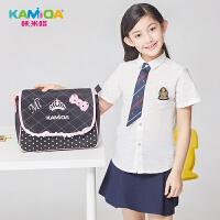 咔米嗒kamida儿童斜挎包包小学生补习袋 美术包可爱公主女童单肩包
