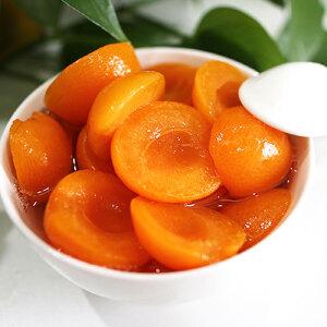 【河北特产】皇家港湾 甜杏罐头 新鲜水果糖水无防腐剂 办公室休闲零食 425g/罐 包邮