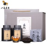 八马茶叶 安溪铁观音陈香老铁2008 陈年原产地特级茶叶礼盒126克