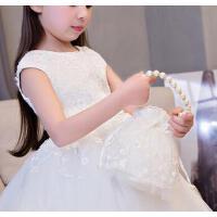 儿童公主包蕾丝韩版手提包2017新款公主包包生日女童礼服配饰