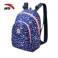 安踏双肩背包 2017夏季新款男女学生书包电脑包休闲包19728162