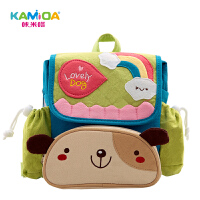 咔米嗒卡通可爱幼儿园书包儿童背包1-3-4岁大班男女宝宝包包小孩