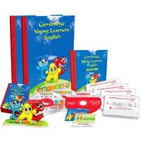 剑桥少儿英语】三级 学生包(含:教材2本、VCD光盘1张、CD-ROM光盘2张、磁带4盒、词汇卡、词汇手册)