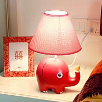 御目 台灯 大象卧室床头灯装饰灯调光儿童房时尚存钱罐温馨卧室家用插电可爱结婚生日礼物创意护眼灯具