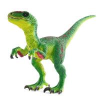 [当当自营]Schleich 思乐 恐龙系列 伶盗龙 绿色 S14530