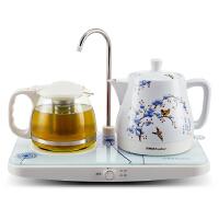 Royalstar/荣事达 TCE10-06a自动上水电茶壶陶瓷电热水壶套装特价
