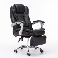未蓝生活电脑椅办公皮椅家用转椅老板椅可后仰人体工学升降座椅
