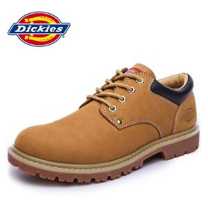 Dickies 休闲鞋男士欧美潮流工装鞋圆头系带男鞋潮鞋 163M50LXS79
