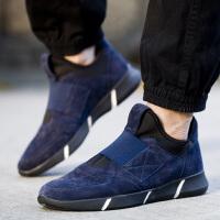 2016欧洲先生新品男士棉鞋男鞋春季保暖运动休闲鞋子男反绒皮潮鞋