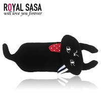 皇家莎莎RoyalSaSa韩国布艺可爱猫咪BB夹公主发卡儿童发夹宝宝头饰侧夹