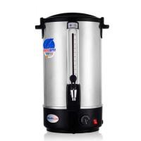 商用电热开水桶 奶茶保温桶不锈钢开水器16L双层调温开水桶水龙头