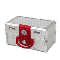 办公用品印章收纳盒手提带锁放章公章盒 可调节印章箱印章盒