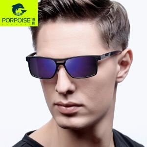 海豚男士偏光炫彩太阳镜时尚个性复古司机驾驶开车墨镜PP3361