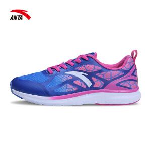安踏女鞋跑步鞋春季轻便休闲运动鞋透气耐磨网鞋休闲鞋12625541