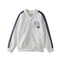 小猪班纳童装男童女童夹克中大童休闲拉链衫儿童棒球服时尚亲子装外套