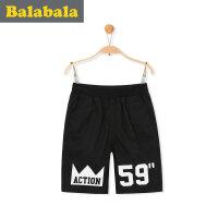 巴拉巴拉男童短裤中大童童装裤子2017夏季新款儿童中裤男孩五分裤