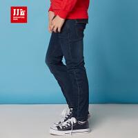 JJLKIDS季季乐童装男童牛仔裤春秋款水洗单裤时尚百搭裤子BCK51041