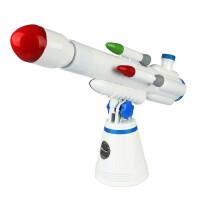儿童天文望远镜 博冠50/360天文望远镜 小小科学家 储蓄罐印章多功能天文望远镜