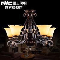 雷士照明 欧式客厅吊灯 奢华卧室餐厅灯现代简约创意灯饰灯具