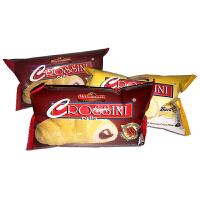 【当当自营】菲律宾进口 好味CROSSlNI巴伐利亚奶油夹心牛角包/巧克力奶油夹心牛角包 36g*12包