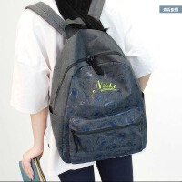 新款双肩包女日韩版学院风高中生休闲旅行简约背包初中学生书包女